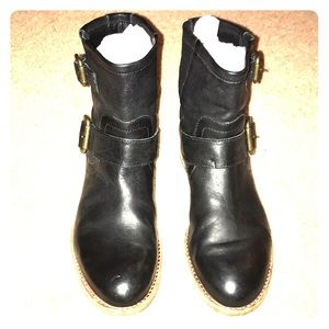 Leather Motor Cycle Harness Booties